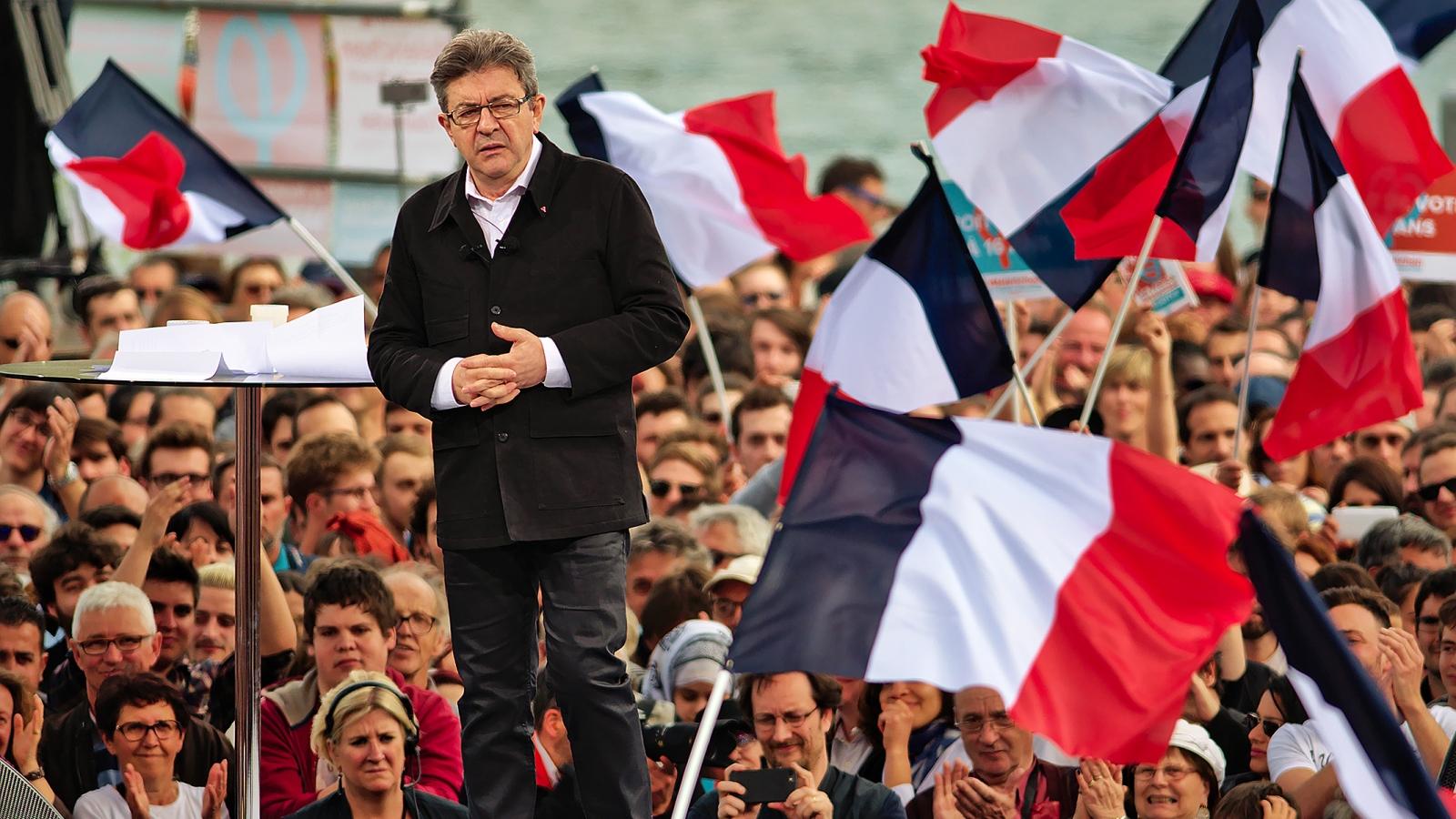 Jean-Luc Mélenchon, kandidat for partiet La France insoumise.