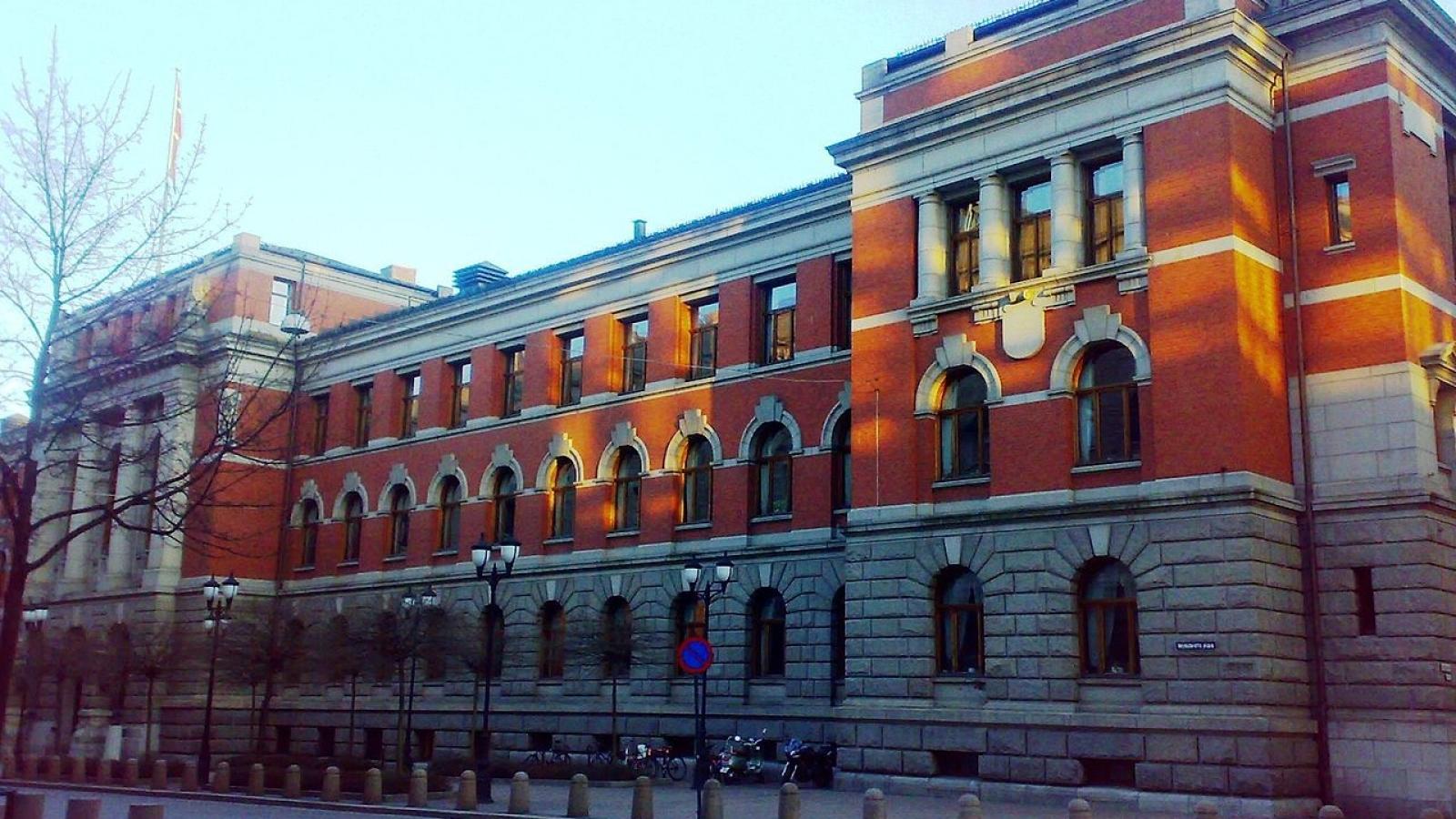 Høyesteretts Hus i Oslo. (Foto: Erlend Bjørtvedt, Creative Commons-lisens.)