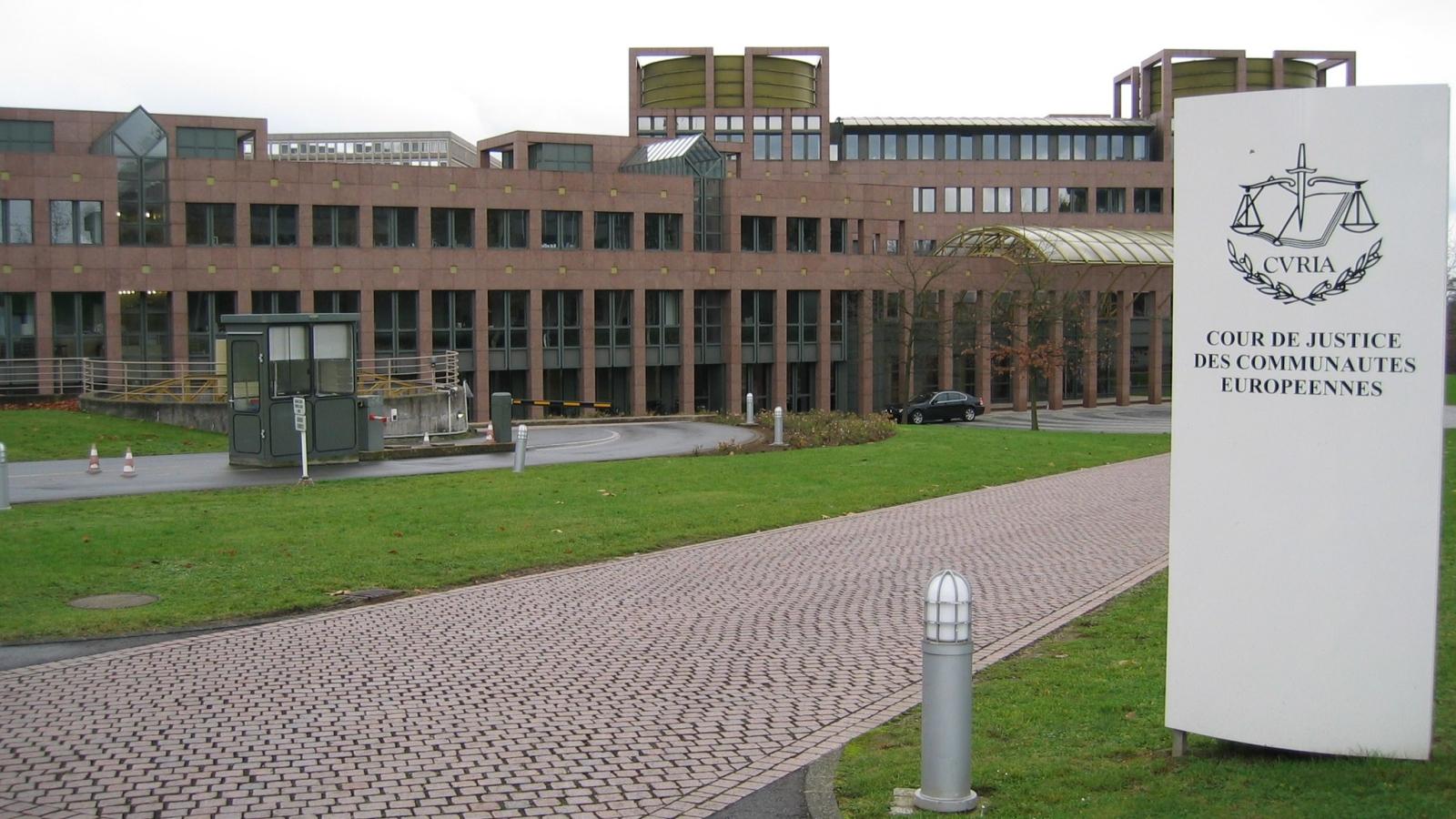 EU-domstolen i Luxembourg. CC BY Cédric Puisney