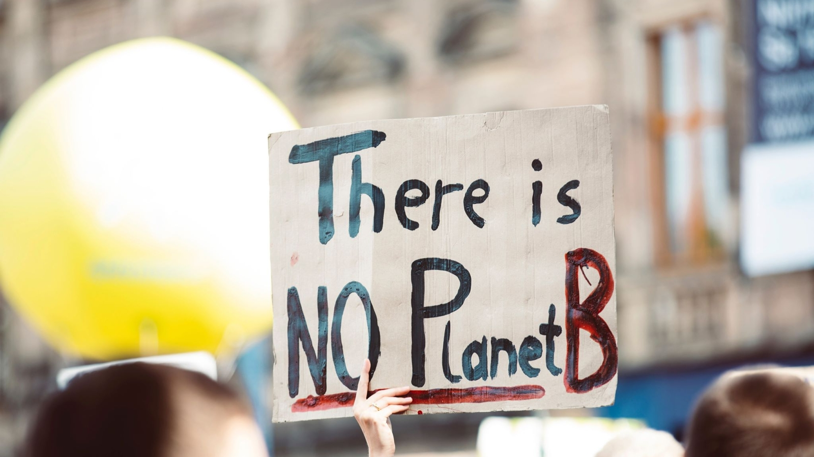 Markus Spiske / Unsplash.com. Bildet er tatt i Erlangen, Tyskland, under den globale klimastreiken 20. september 2019.