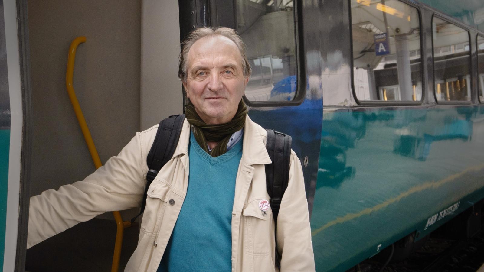 Roy Pedersen, leder i Nei til EU. (Foto: Eivind Formoe)