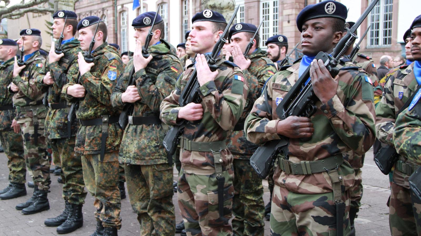 Eurokorpset er brukt av EU og NATO i Afghanistan og andre steder. Men korpset er ennå langt ifra å være en egentlig EU-hær. Bildet er fra 2013. Foto: Claude Truong-Ngoc,