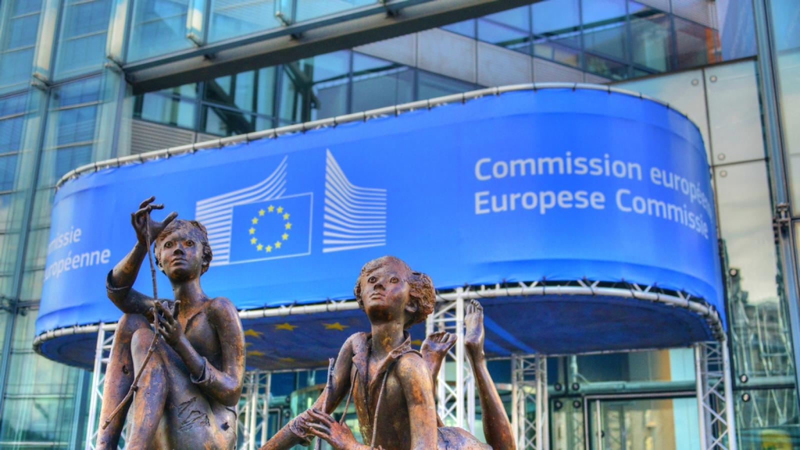 EU-kommisjonens hovedkvarter i Brussel.