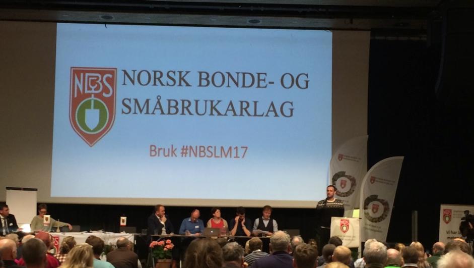 Landsmøte i Norsk Bonde- og Småbrukarlag 2017