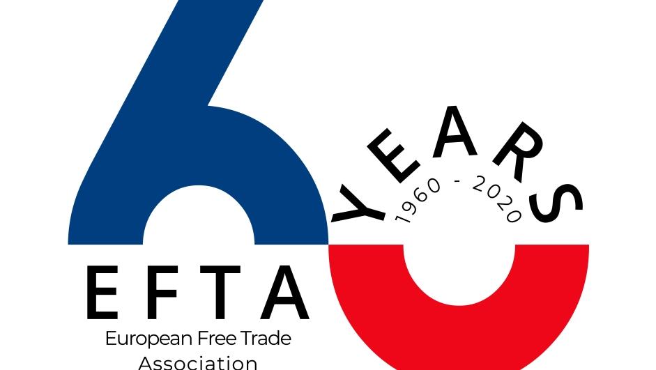 EFTAs jubileumslogo.