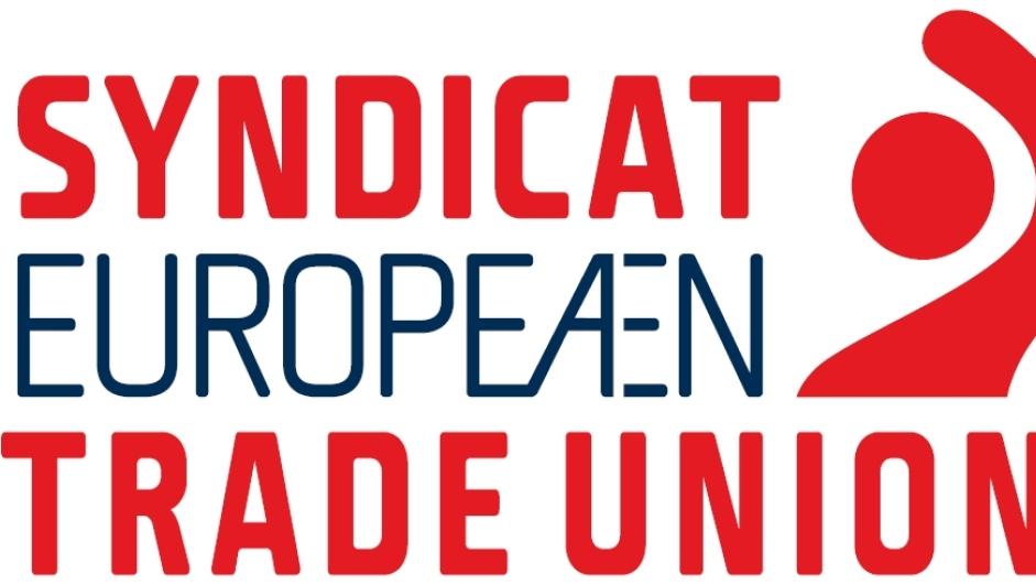 Logoen til Den europeiske faglige samorganisasjonen (ETUC)