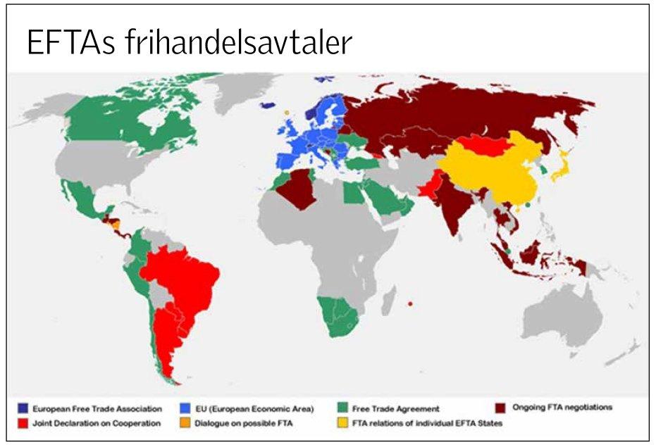 Nteu Facts The European Free Trade Association Efta Neitileu
