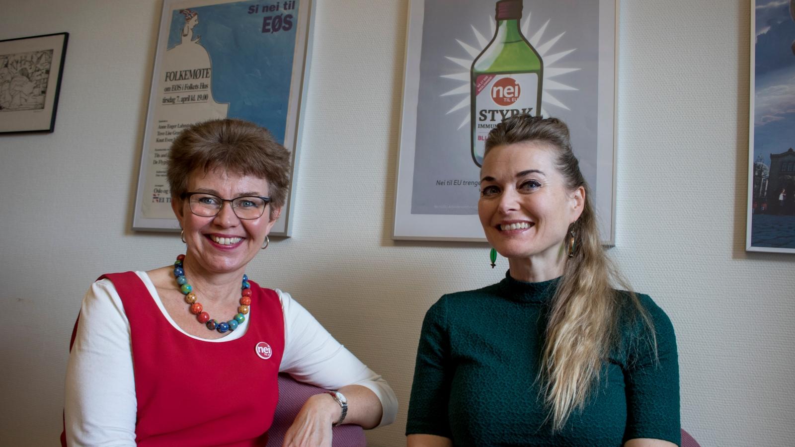 Kathrine Kleveland og Tove Bøygard.