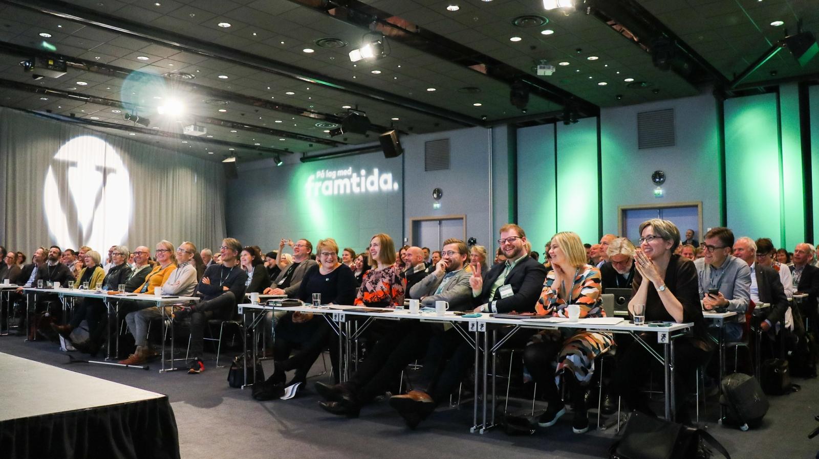 Hvis Venstre vil være på lag med framtida, er norsk EU-medlemskap feil vei å gå. Fra Venstres landskonferanse i 2019.