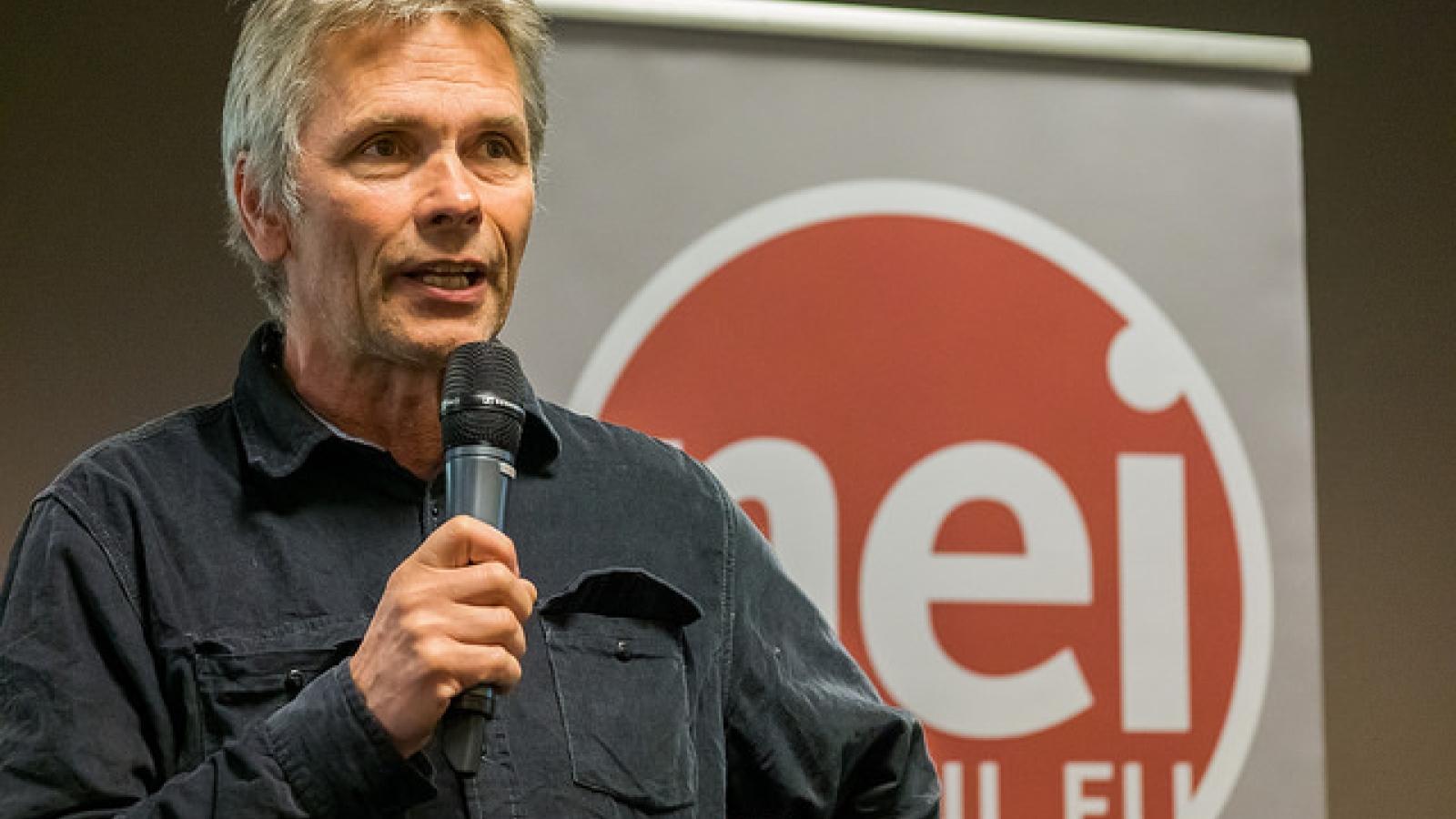 Boye Ullmann, leder i Nei til EUs faglige utvalg.