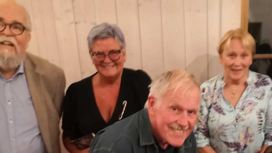 Noen av styrets medlemmer, fra venstre: Jon Halvor Ovrum. Marianne Nyland, Jan Christensen, Kari Vernsskog.