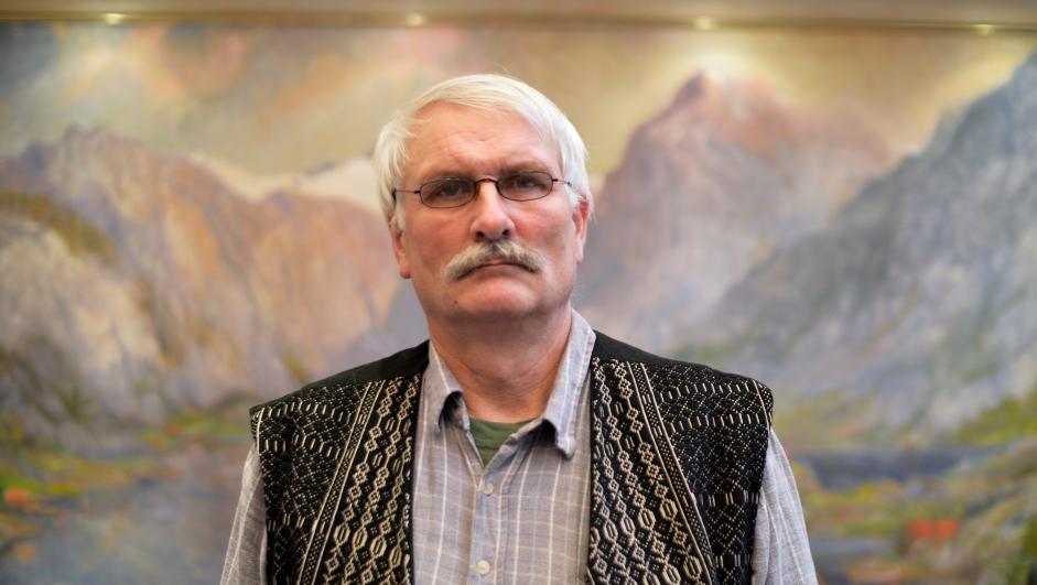 Ole Langeland, leder i Vest-Agder Nei til EU
